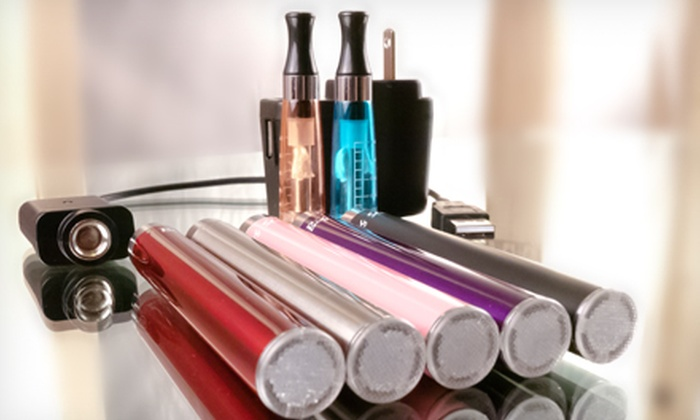 21 Century Smoking - Multiple Locations: E-Cigarette Packages at 21 Century Smoking (Up to 51% Off). Two Options Available.