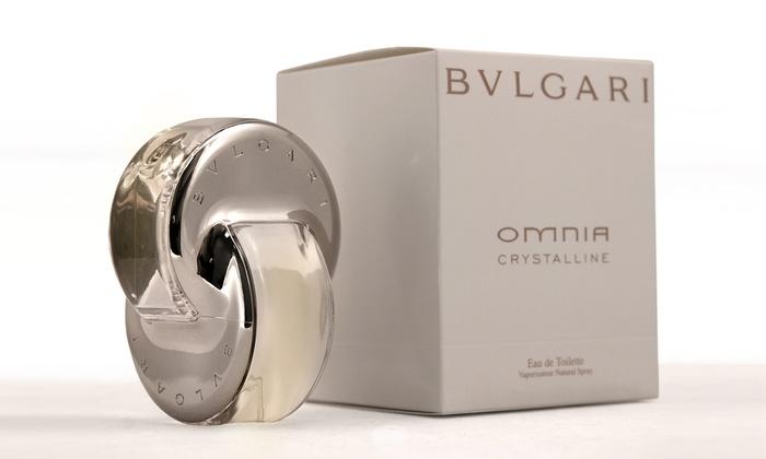bvlgari omnia crystalline groupon goods. Black Bedroom Furniture Sets. Home Design Ideas