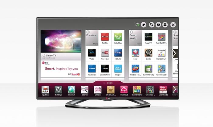 LG 55 In. LED Class 1080p 120Hz Cinema 3D Smart TV: LG 55 In. Class 1080p 120Hz Cinema 3D Smart TV. Free Shipping.