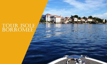 Tour sul Lago Maggiore fino a 6 persone con Navigazione Isole Borromee
