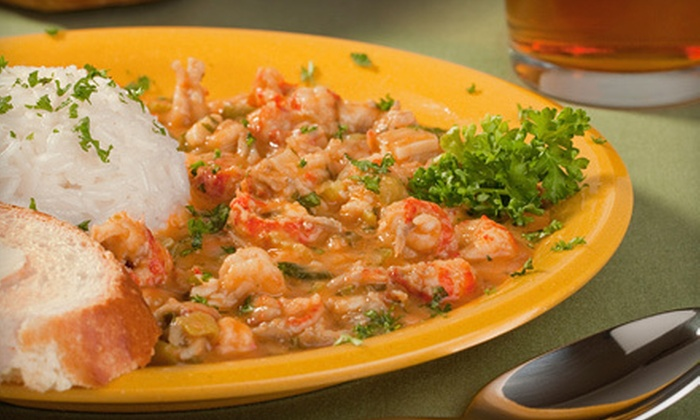 Shanahan's - Forest Park: $24 for Creole Dinner for Two with Appetizers and Beer at Shanahan's (Up to $60.50 Value)