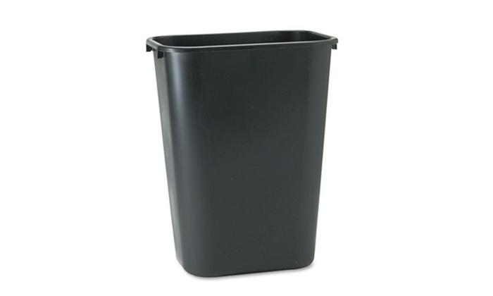 Rubbermaid 10.25gal. Plastic Wastebasket: Rubbermaid 10.25gal. Plastic Wastebasket