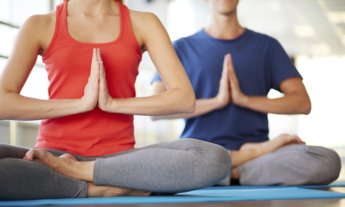 Ahimsa Yoga Studio - Ahimsa Yoga Studio: $15 for a Singles' Yoga Session on May 2 at Ahimsa Yoga Studio ($30 Value)