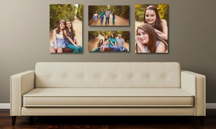 """Memory Lane Portrait Boutique - Elkhart: $99 for Family-Portrait Session with 16""""x24"""" Gallery-Wrapped Canvas from Memory Lane Portrait Boutique ($325 Value)"""