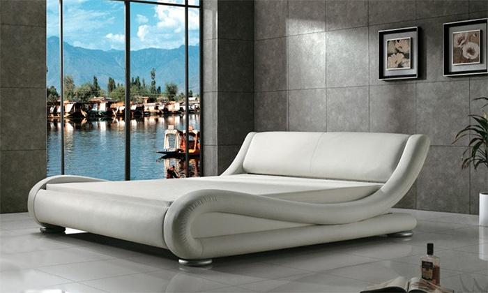 Estructuras de cama de dise o groupon goods for Comodas diseno italiano