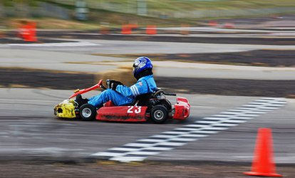 image for 12-Minute Go-Kart Session for One or Two Drivers at Action Karting (Up to 38% Off)