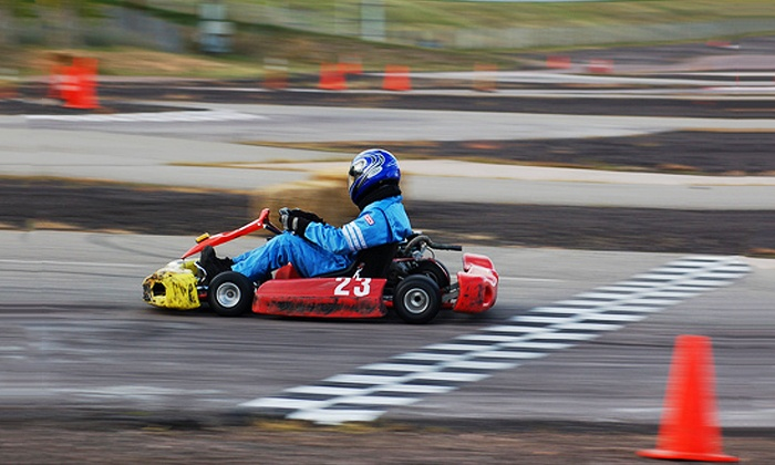 Action Karting - Northeast Jefferson: 10-Lap Go-Kart Race for One or Two Drivers at Action Karting (Up to 51% Off)