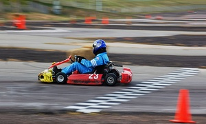Action Karting: 12-Minute Go-Kart Session for One or Two Drivers at Action Karting (Up to 38% Off)
