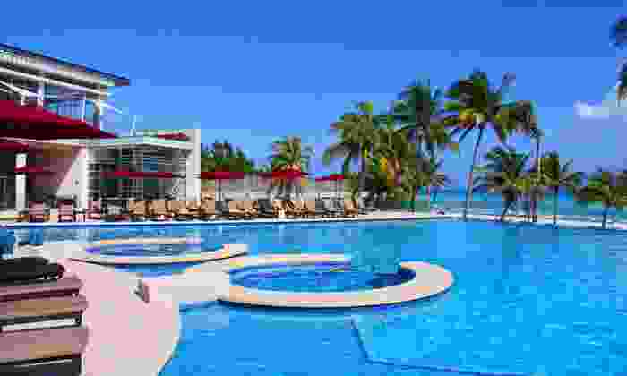 All-Inclusive Playa del Carmen Stay at Azul Fives Hotel with Airfare - Azul Fives Hotel: Six-Day, All-Inclusive Beach Vacation with Airfare and 4.5-star Accommodations at Azul Fives Hotel from Travel By Jen