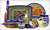 Polmedia Polish Pottery Online Only: Polish Pottery, Home Furnishings, or Dining Accessories at Polmedia Polish Pottery (Half Off). Two Options Available.