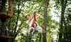 Markin Farms Zipline Adventures - Liberty: Zipline Adventure with Photos at Markin Farms Zipline Adventures (Up to 51% Off). Two Options Available.
