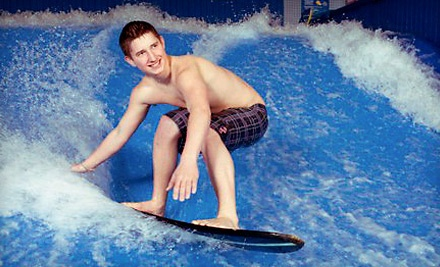 Drop-In Admission for 2 - H2O Adventure + Fitness Centre in Kelowna