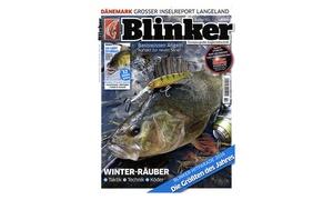 Eventus Media GmbH: Jahres-Abo (12 Ausgaben) der Angler-Zeitschrift Blinker (90% sparen*)