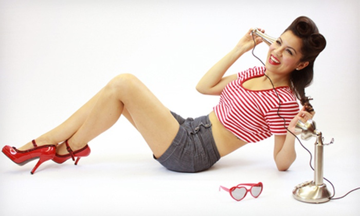 Chicago Pin Up Photography - Warrenville: $99 for a Two-Hour Pinup Photo Shoot with Five Retouched Digital Images at Chicago Pin Up Photography ($475 Value)