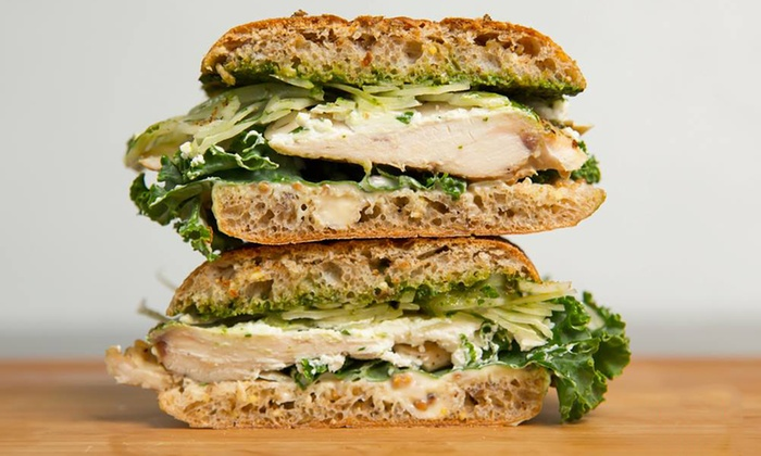Fourno - Downtown Toronto: Panini, Salads, and Baked Goods at Fourno (Up to 50% Off). Two Options Available.