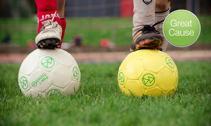 Pass It Forward: Soccer Balls for Low-IncomeCommunities