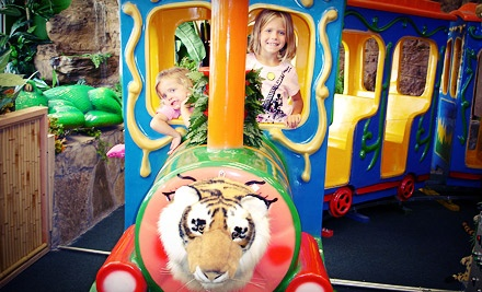 Kids Outing Indoor Safari Park