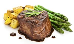 Fleisch & Wein: 3-Gänge-Spargelmenü inkl. Aperitif mit Prosecco für Zwei oder Vier im Restaurant Fleisch & Wein (bis zu 60% sparen*)