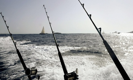 Half-Day Fishing Trip for One, Two, or Four at Sunrise Fishing Adventures (Up to 50% Off)