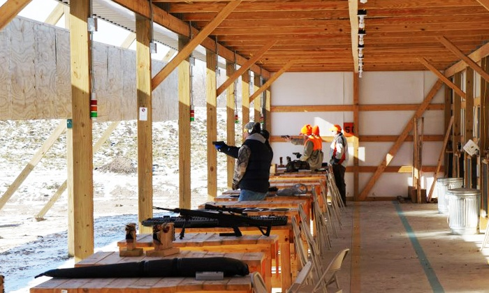 Milford Hills - Johnson Creek: Shooting-Range Packages at Milford Hills (Up to 53% Off). Three Options Available.