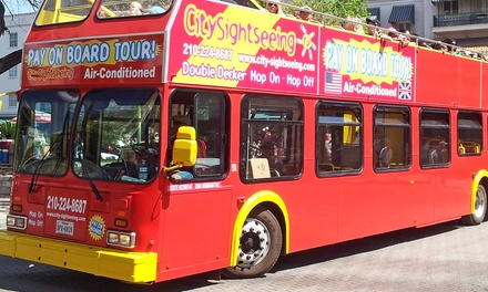 Double Decker Bus Tour for Two, Four, Six, Ten or a Family of Five from City Sightseeing San Antonio (Up to 51% Off)