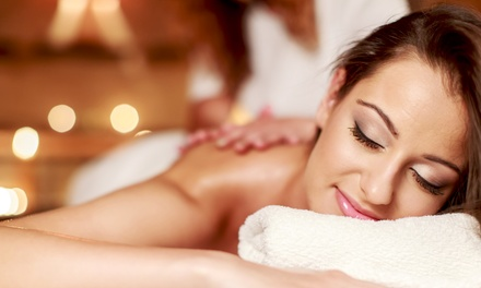 $62 for Swedish Massage and Volcanic-Ash Detox Clay Wrap at 5 D Awareness ($140 Value)