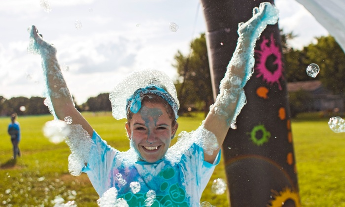 Bubble Bash 5K - Prescott: One, Two, or Four Groupons, Each Good for One Entry to Bubble Bash 5K on Friday, August 1 (Up to 45% Off)