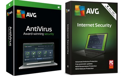 AVG Anti virus and Internet Security 2019 voor 3 pc's voor 2 jaar