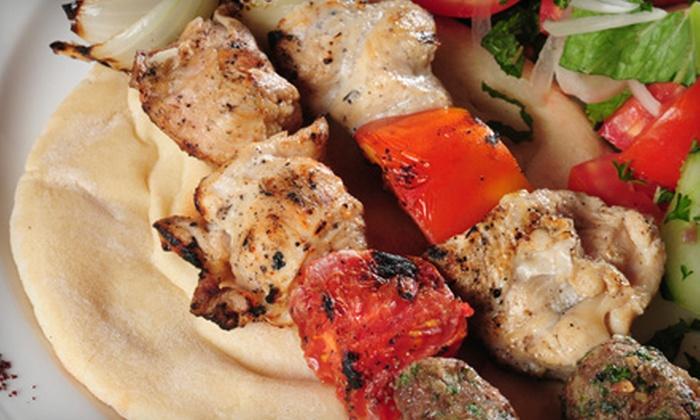 Harissa Lebanese Cuisine - Stevens: $12 for $24 Worth of Lebanese Cuisine for Two at Harissa Lebanese Cuisine