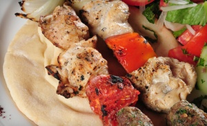 Half Off at Harissa Lebanese Cuisine