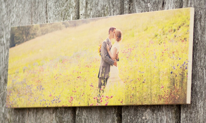 "PhotoBarn: 8""x24"", 12""x36"", or 16""x48"" Panoramic-Sized PhotoBoard from PhotoBarn (Up to 65% Off)"