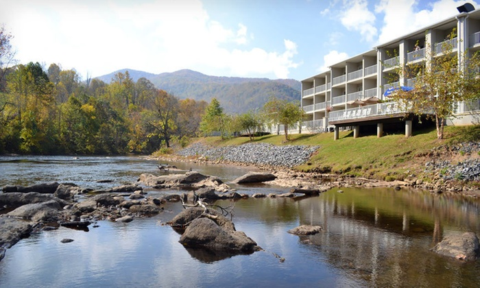 null - Asheville: Stay for Two at Best Western Plus River Escape Inn & Suites in Dillsboro, NC
