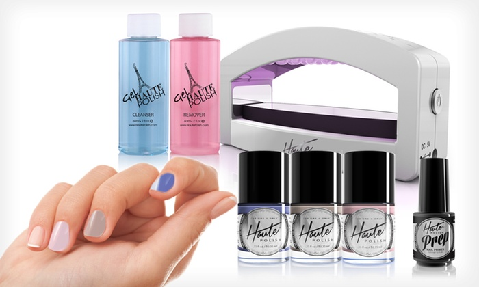 Haute Polish One-Step Gel Manicure Kit: $49.99 for a Haute Polish Elite LED Nail-Setting Kit ($103 List Price). Multiple Kits Available. Free Shipping.