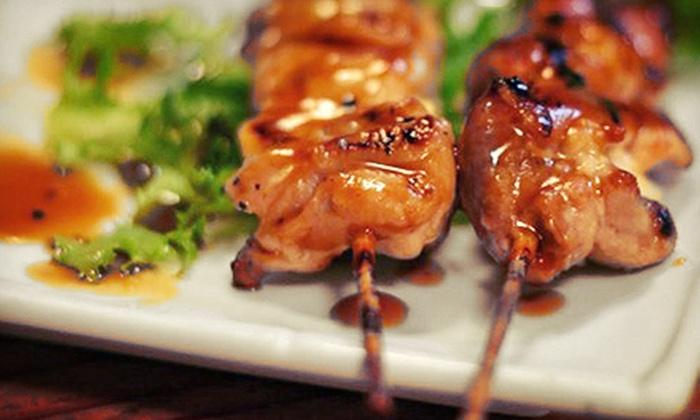 Kushiya Benkay - Downtown: $15 for $30 Worth of Japanese Cuisine at Kushiya Benkay