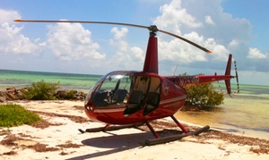 Timberview Helicopters: 6- or 12-Mile Helicopter Flight for Up to Three from Timberview Helicopters (Up to 51% Off)