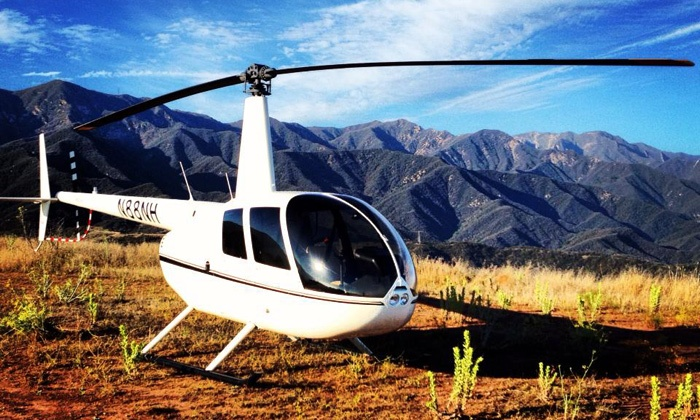 Nanco Helicopters - Santa Barabara Municipal Airport: $265 for a 45-Minute Helicopter Tour of Santa Barbara for Two from Nanco Helicopters (39% Off)