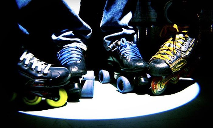 Interskate 91 South - Wilbraham: $30 for Family Fun Pack for 4 with Roller Skating, Laser Tag, and Game Tokens at Interskate 91 South (Up to $75 Value)