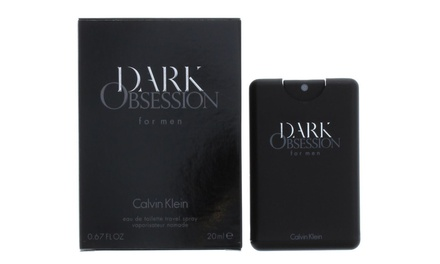 Calvin Klein Dark Obsession Eau de Toilette for Men 20ml Spray