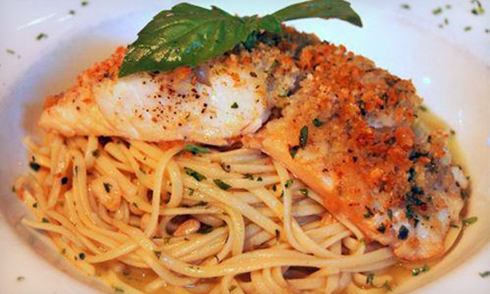 Villano's Restaurant - Post Road North: Italian Cuisine at Villano's Restaurant (Half Off). Three Options Available.