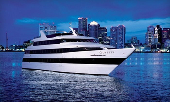 Odyssey Cruises - Downtown: Three-Hour Dinner Cruise Monday–Friday, Saturday, or Sunday from Odyssey Cruises (40% Off)