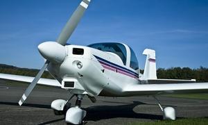 Club Air Pilot: Initiation au pilotage d'un avion avec cours, simulateur et 1 ou 2 vols effectifs à partir de 129 €