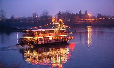One-Hour Cruise for Two or Four on The Willamette Queen (Up to 48% Off)