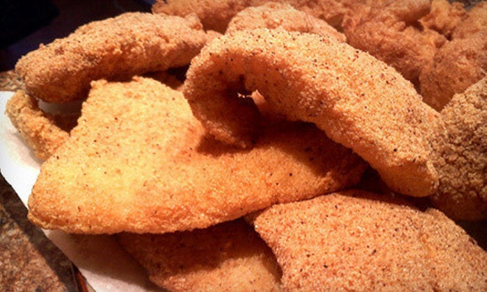Fish Place - Kingsbridge Commerce Park: Cajun-Style Seafood Cuisine at Fish Place (Half Off). Three Options Available.