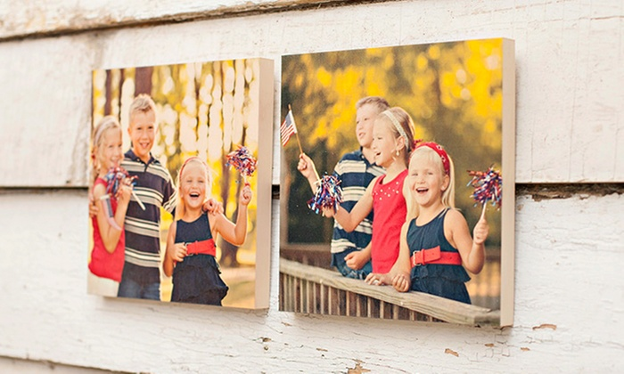 "PhotoBarn: $39 for Five 2""x2"" PhotoBlocks, Three 5""x7"" PhotoBoards, or One 8""x10"" PhotoBoard from PhotoBarn ($95 Value)"