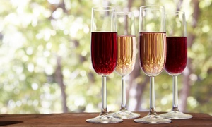 Up to 40% Off Wine Flights for One or Two at Wildside Winery at Wildside Winery, plus 6.0% Cash Back from Ebates.