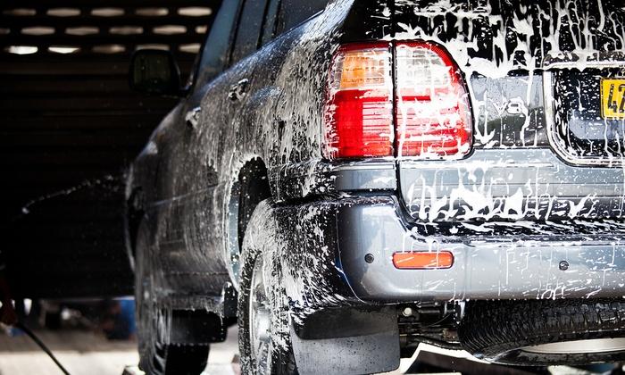 AMPM Chino Valley Express Car Wash - AMPM Chino Valley Express Car Wash: Five Regular or Premium Car Washes at AMPM Chino Valley Express Car Wash (50% Value)