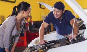Environmental Motors Garage: Front or Rear Brake Repair or Vehicle Tune-Up at Environmental Motors Garage (Up to 52% Off)