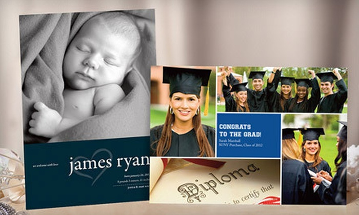 PhotoCardsDirect.com: Custom Digitial-Photo Greeting Cards from PhotoCardsDirect.com (Up to 59% Off). Two Options Available.