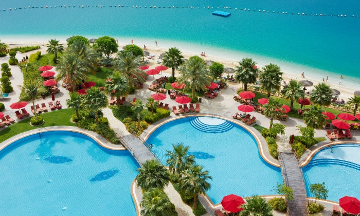 The Beach Club at Khalidiya Palace Rayhaan by Rotana - The Beach Club: Pool & Beach at Khalidiya Palace Rayhaan (Up to 38% Off)