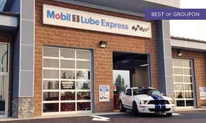 Mobil 1 Lube Express: CC$49.99 for One Standard Oil Change with Engine Flush at Mobil 1 Lube Express (CC$72.97 Value)
